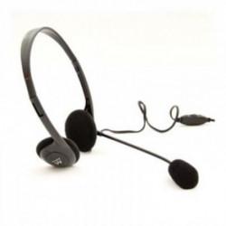 Ewent EW3563 Headset Binaural Kopfband Schwarz
