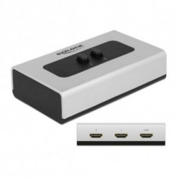 DELOCK Switch 87663 2 x HDMI