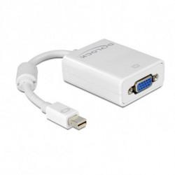 DELOCK Mini DisplayPort to VGA Adapter 65130 White