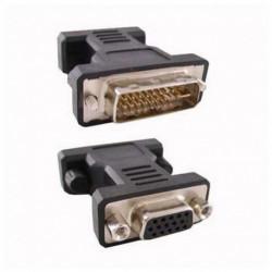NANOCABLE 24 + 5 DVI Converter to VGA HDB 15 10.15.0704 Male Plug Socket