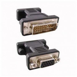 NANOCABLE Convertisseur DVI 24+5 vers VGA HDB 15 10.15.0704 Prise Mâle Prise Femelle