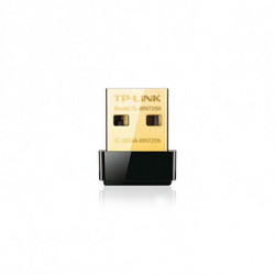 TP-Link Adaptador Wifi Nano TL-WN725N 150N WPS USB Negro