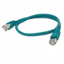 iggual IGG310595 cabo de rede 3 m Cat5e U/UTP (UTP) Verde