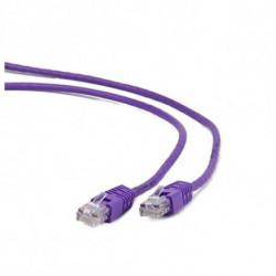 iggual IGG310656 networking cable 2 m Cat5e U/UTP (UTP) Purple