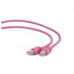 iggual IGG310922 cabo de rede 0,5 m Cat5e U/UTP (UTP) Rosa