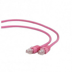iggual IGG310922 Netzwerkkabel 0,5 m Cat5e U/UTP (UTP) Pink