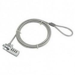 iggual IGG311417 câble antivol Acier inoxydable