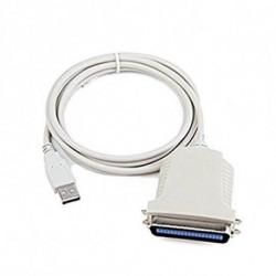 iggual IGG311462 cabo de impressora 1,8 m Branco