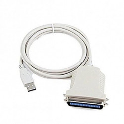 iggual IGG311462 printer cable 1.8 m White