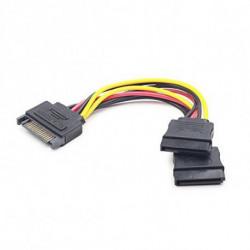 iggual IGG311790 SATA cable 0.15 m Multicolor