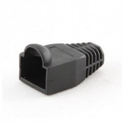 iggual IGG312902 protector de cable Negro 10 pieza(s)