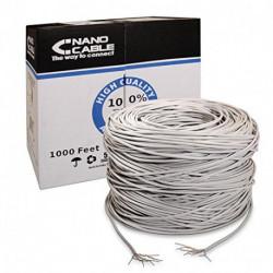 NANOCABLE Cable de Red Rígido UTP Categoría 5e ANEAHE0087 305 m