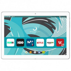 Brigmton BTPC-1022 Tablet Mediatek MTK6580 16 GB 3G Weiß