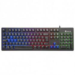 NGS GKX-300 teclado USB Negro