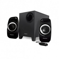 Creative Technology PC Speakers T3300 51MF0415AA000 2.1 27W 75 DB Black