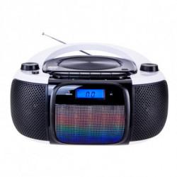 Daewoo Radio/CD Bluetooth + mp3 DBU-61 KARAOKE FM SD 220 V Grau Schwarz