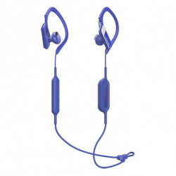 Panasonic Bluetooth Sports Headset with Microphone RP-BTS10E-A Waterproof Blue
