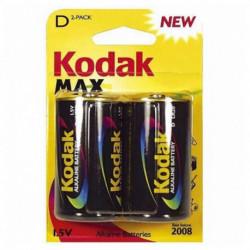 Kodak Pila Alcalina LR20 1,5 V (2 pcs)