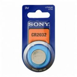 Sony Pilha de Botão de Lítio CR2032B1A 3 V 220 mAh Cinzento