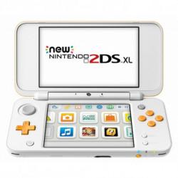 Nintendo New 2DS XL 223593 4 GB microSDHC Blanc Orange