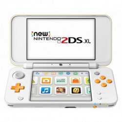 Nintendo New 2DS XL 223593 4 GB microSDHC Weiß Orange