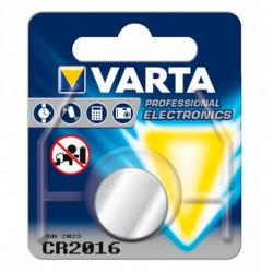 Varta Pilha de Botão de Lítio CR-2016 3 V Prata
