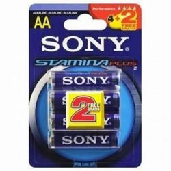 Sony 4+2 AAA Stamina Plus Single-use battery Alcalino