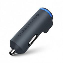 Energy Sistem Cargador de Coche 422326 2 USB 3.1AB Negro