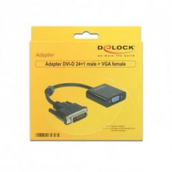 DELOCK Adaptateur VGA vers DVI APTAPC0561 65658 24+1