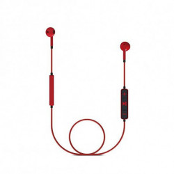 Energy Sistem Auriculares Bluetooth com microfone 428410 V4.1 100 mAh Vermelho