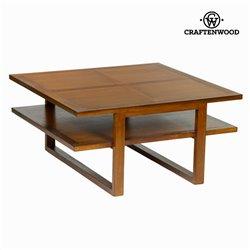Mesa de Centro Craftenwood (90 x 90 x 45 cm) - Chocolate Coleção
