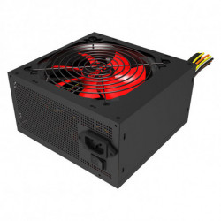 Mars Gaming MPII550 unidad de fuente de alimentación 550 W ATX Negro, Rojo