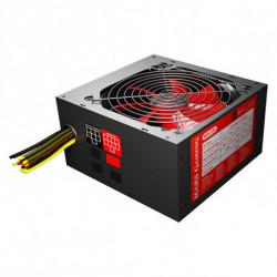 Mars Gaming MPII850 unidad de fuente de alimentación 850 W ATX Negro, Rojo