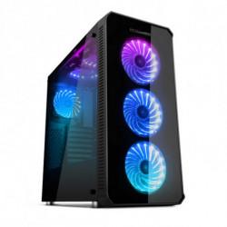 NOX ATX Semi-tower Box NXHUMMERTGX RGB
