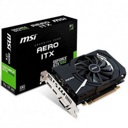 MSI V809-2456R carte graphique GeForce GTX 1050 2 Go GDDR5