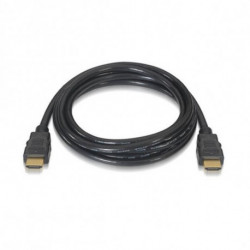 NANOCABLE Cable HDMI HDMI V2.0, 0.5m 10.15.3600 V2.0 4K 0,5 m Negro