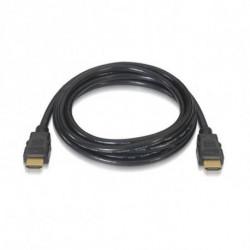 NANOCABLE Cable HDMI HDMI V2.0, 1m 10.15.3601 V2.0 4K 1 m Negro