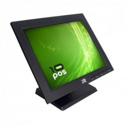 10POS Monitor con Touch Screen FMOM150012 TS-15V TFT LCD 15 Nero