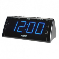 Daewoo Radio Alarm Clock with LCD Projector 222932 USB
