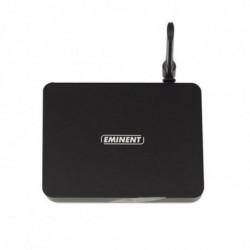 Eminent EM7680 boîtier de télévision intelligent 8 Go Wifi Ethernet/LAN Noir 4K Ultra HD