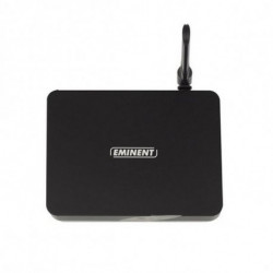 Eminent EM7680 Smart TV box 8 GB Wi-Fi Collegamento ethernet LAN Nero 4K Ultra HD