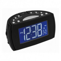 Denver Electronics CRP-514 radio Reloj Digital Negro