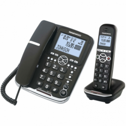 Daewoo Wireless Phone DTD5500 DECT LCD LED COMBO