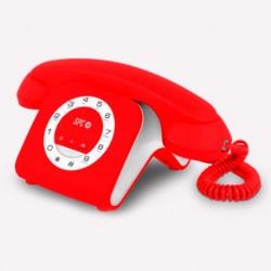 SPC 3609R telephone Analog telephone Red