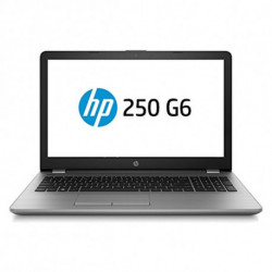 HP 250 G6 Silver Notebook 39.6 cm (15.6) 1920 x 1080 pixels 7th gen Intel® Core™ i5 i5-7200U 8 GB DDR4-SDRAM 256 GB SSD 1WY58EA