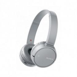 Sony WHCH500H auricular para telemóvel Binaural Fita de cabeça Cinzento