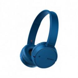 Sony WH-CH500 auricular para telemóvel Binaural Fita de cabeça Azul