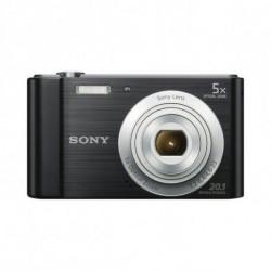 Sony Kompaktkamera DSCW800B Schwarz
