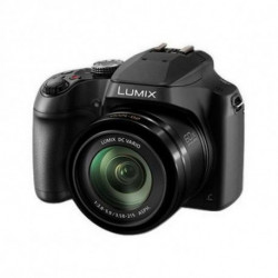 Panasonic Kompaktkamera DC-FZ82EG-K WIFI Schwarz