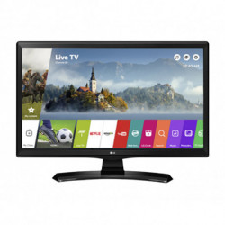 LG 28MT49S-PZ TV 69.8 cm (27.5) WXGA Smart TV Wi-Fi Black